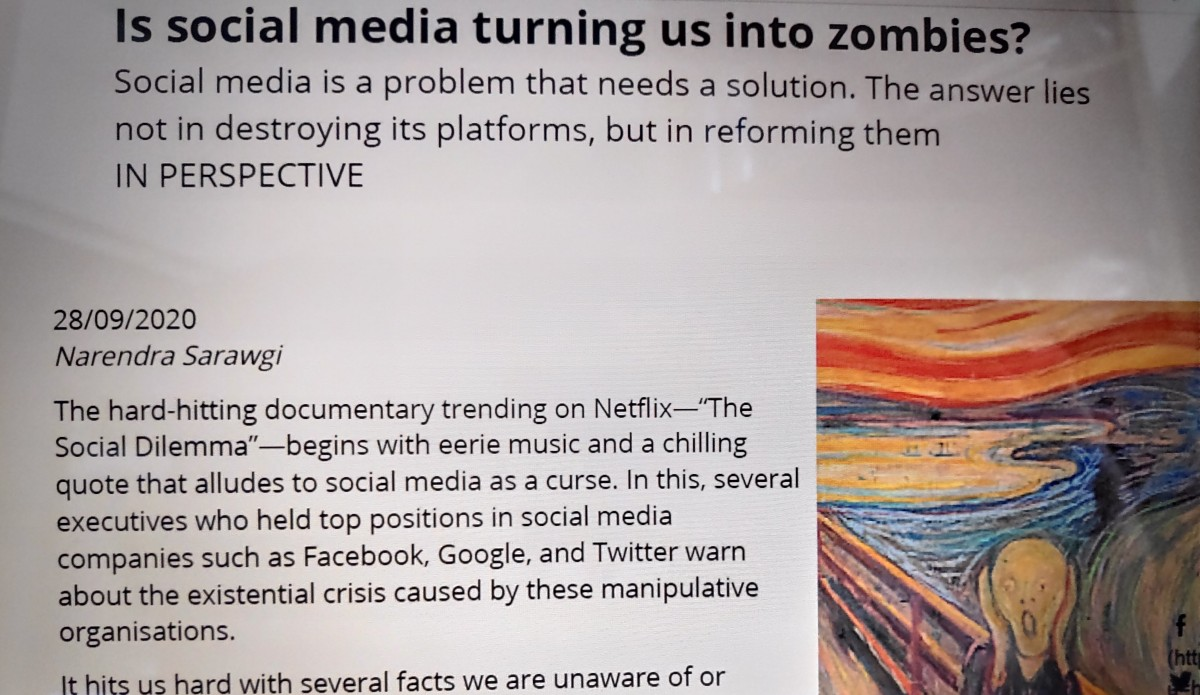 Is Social Media Turning Us into Zombies?